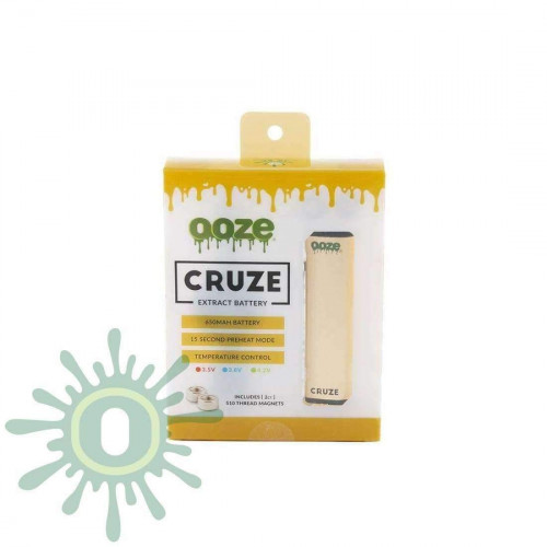 Ooze Cruze Extract Battery Kit - Gold