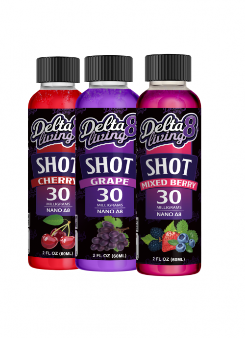 Delta-8 Living Shot