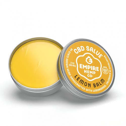 Empire Hemp Co. - Lemon Balm Hemp CBD Salve