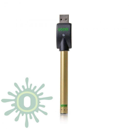 Ooze Slim Pen Touchless Battery w/ USB Charger - Gold
