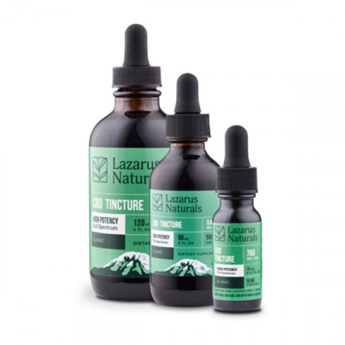 Lazarus Naturals High Potency Tincture - Classic
