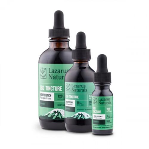 Lazarus Naturals High Potency Tincture - Classic