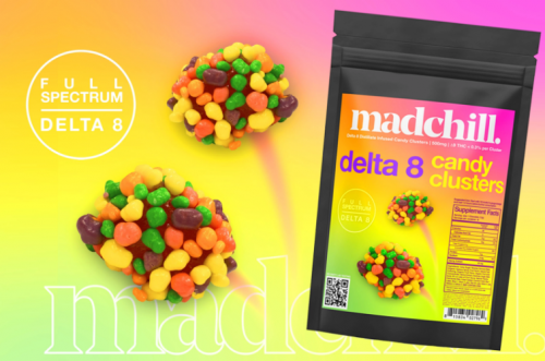 Madchill Delta-8 Candy Clusters