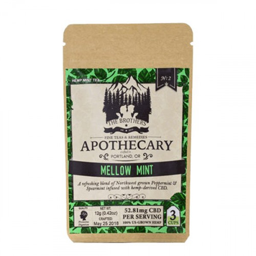 The Brother's Apothecary Tea - Mellow Mint
