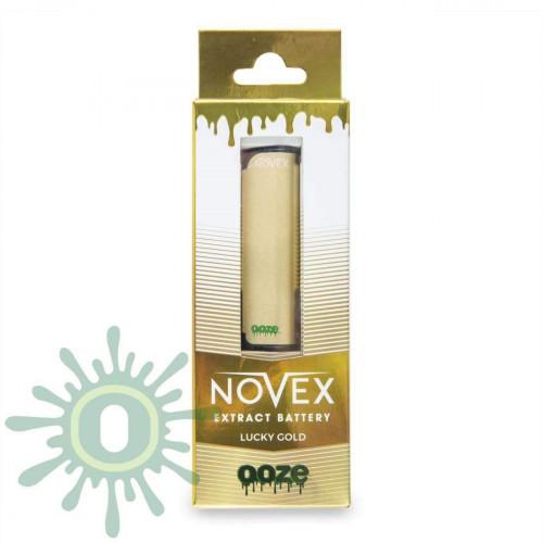 Ooze Novex Extract Vape Battery - Lucky Gold