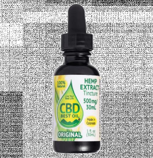 Original Tincture 500 mg (No Added Flavor)