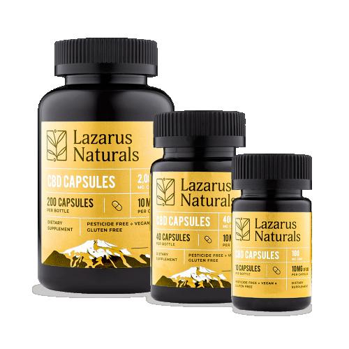 Lazarus Naturals 10mg Capsules