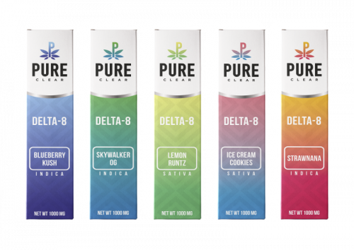 Pure Clear Delta-8 Disposable Pen