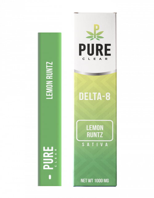 Pure Clear Delta-8 Disposable Pen