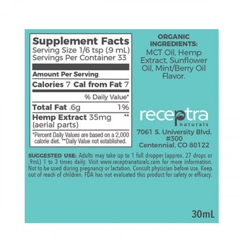 Receptra Naturals Prime