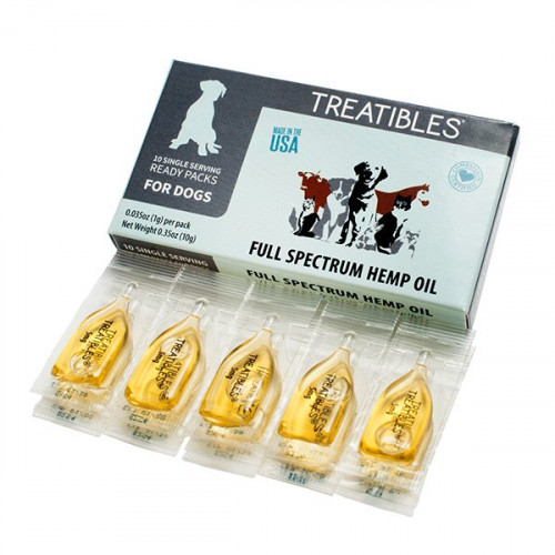 Treatibles Single Serving Oil Ready Pack - Dogs