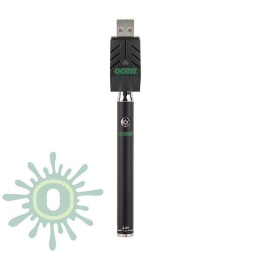 Ooze Slim Pen TWIST Battery w/ USB Smart Charger - Black