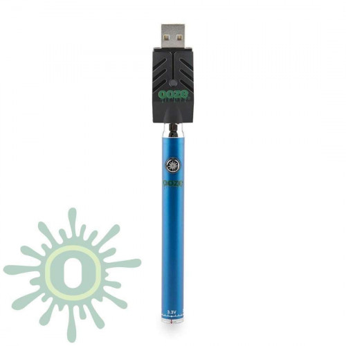 Ooze Slim Pen TWIST Battery w/ USB Smart Charger - Blue
