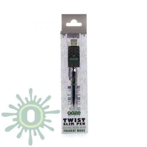 Ooze Slim Pen TWIST Battery w/ USB Smart Charger