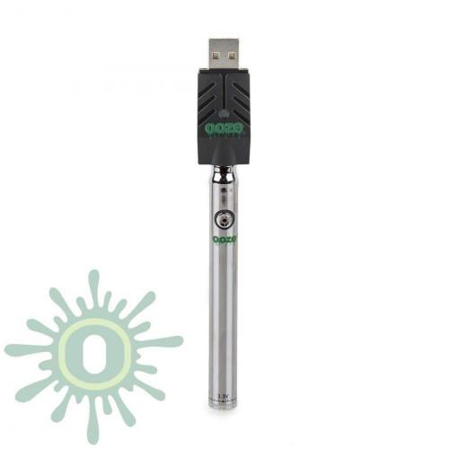 Ooze Slim Pen TWIST Battery w/ USB Smart Charger - Chrome