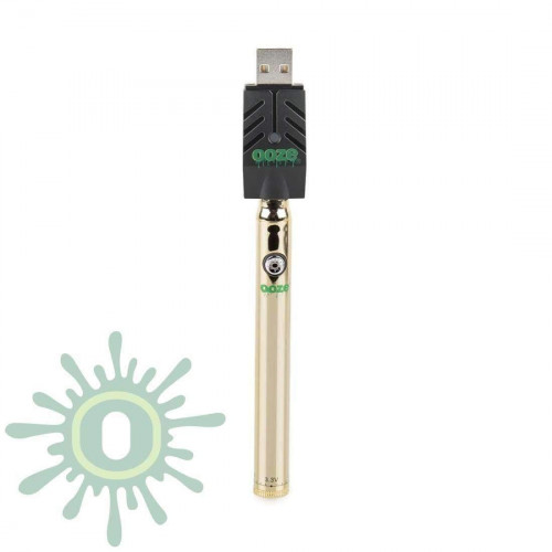 Ooze Slim Pen TWIST Battery w/ USB Smart Charger - Gold