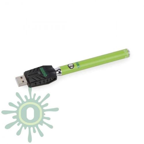 Ooze Slim Pen TWIST Battery w/ USB Smart Charger - Green