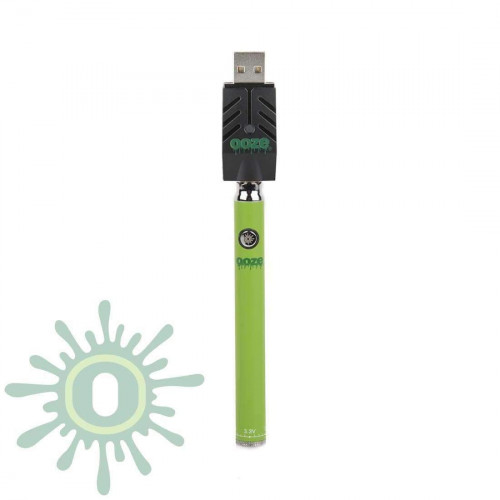 Ooze Slim Pen TWIST Battery w/ USB Smart Charger - Green