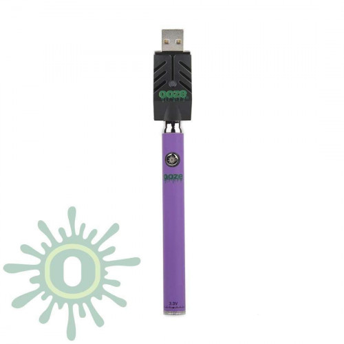 Ooze Slim Pen TWIST Battery w/ USB Smart Charger - Purple