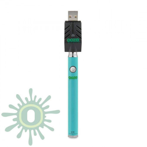 Ooze Slim Pen TWIST Battery w/ USB Smart Charger - Teal