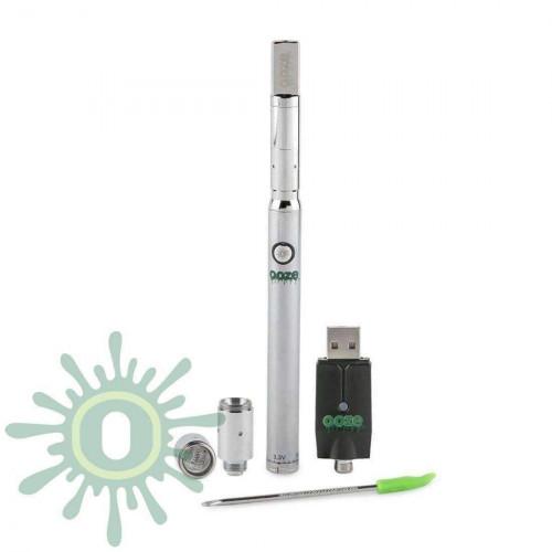 Ooze Slim Twist PRO Vape Pen w/ USB Smart Charger - Chrome