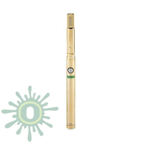 Ooze Slim Twist PRO Vape Pen w/ USB Smart Charger - Gold