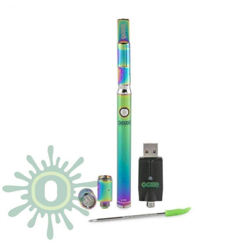 Ooze Slim Twist PRO Vape Pen w/ USB Smart Charger - Rainbow