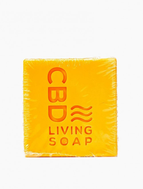 CBD Living Soap 60mg Amber Bergamot