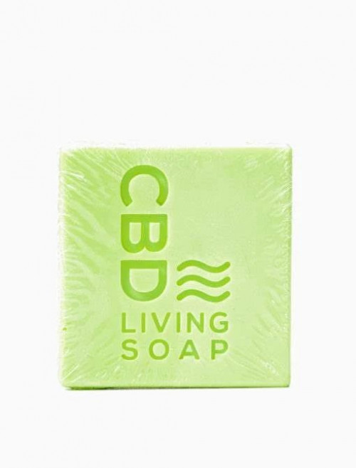 CBD Living Soap 60mg Eucalyptus