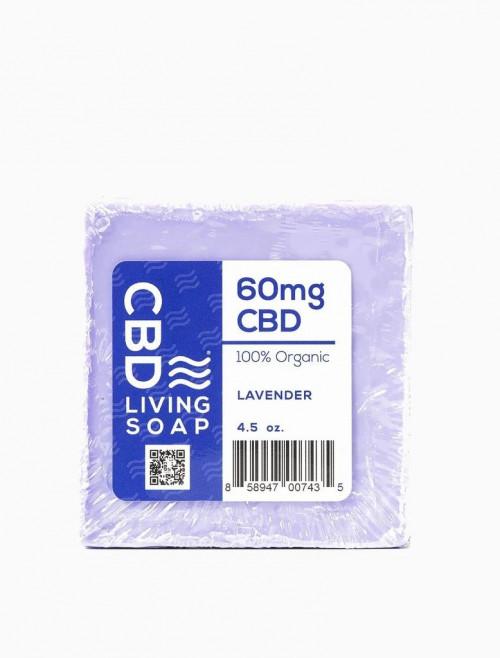 CBD Living Soap 60mg Lavender