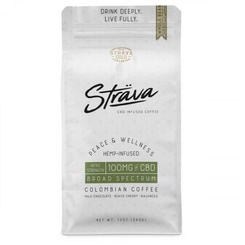 CBD Coffee (Whole Bean) - 4mg CBD/Serving - Medium Roast