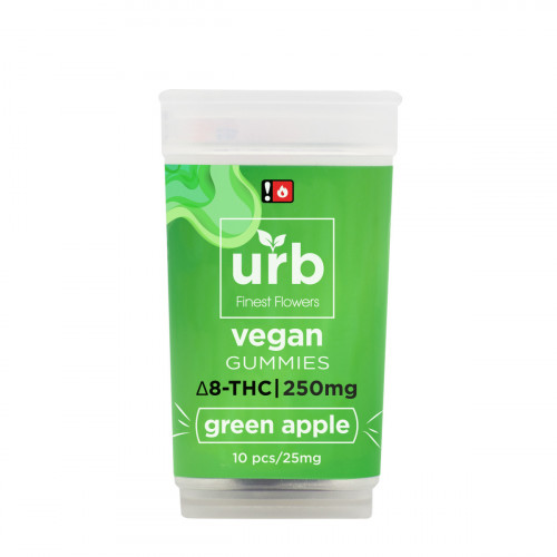 Urb Delta 8 Vegan Green Apple Gummies