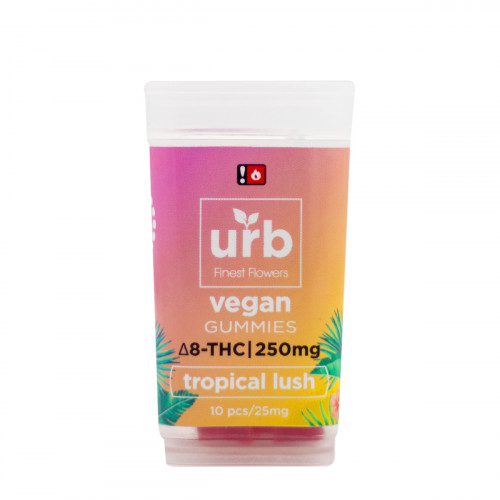 Urb Delta 8 Vegan Tropical Lush Gummies