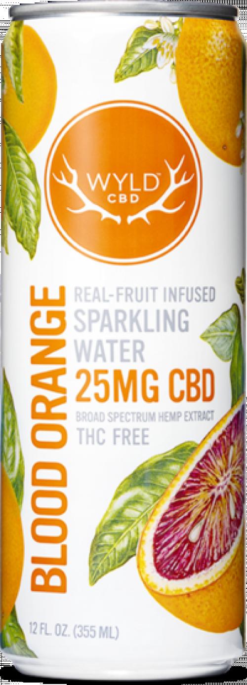 WYLD CBD Sparkling Water