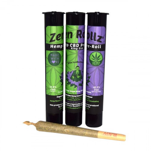 Green Buddha Hemp Co. ZenRollz