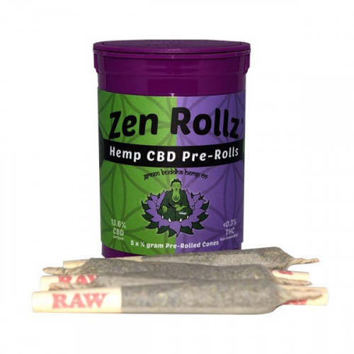 Green Buddha Hemp Co. ZenRollz