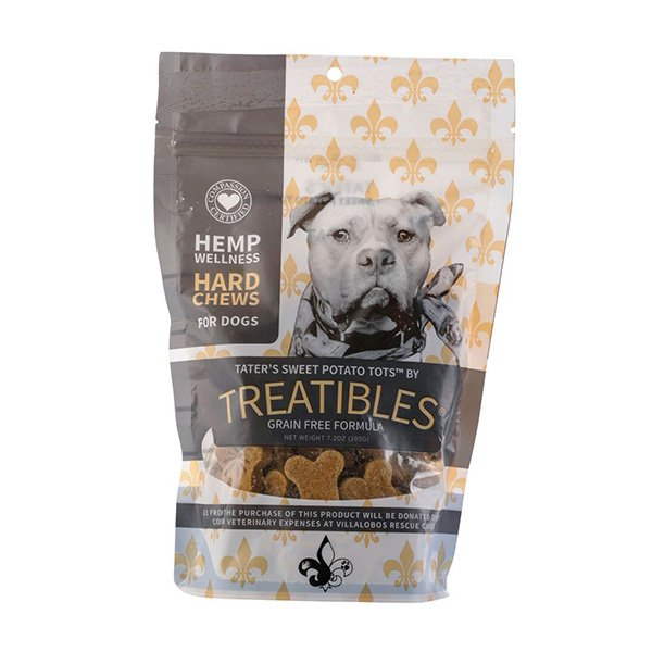 Treatibles Villalobos Sweet Potato Hard Chews - Canine