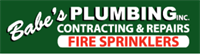 Babe's Plumbing, Inc. & Fire Sprinklers logo