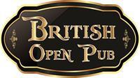 British Open Pub logo
