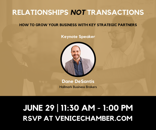 How to Grow Your Business With Key Strategic Partners Luncheon - June 2021