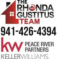 Rhonda Gustitus Team at Keller Williams Peace River Partners logo