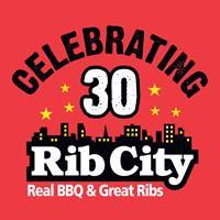 Rib City logo