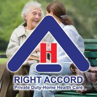 RIGHT ACCORD Private Duty-Home Health Care logo