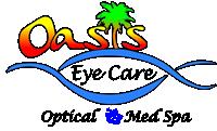Oasis Eye Care, Optical & Med Spa logo