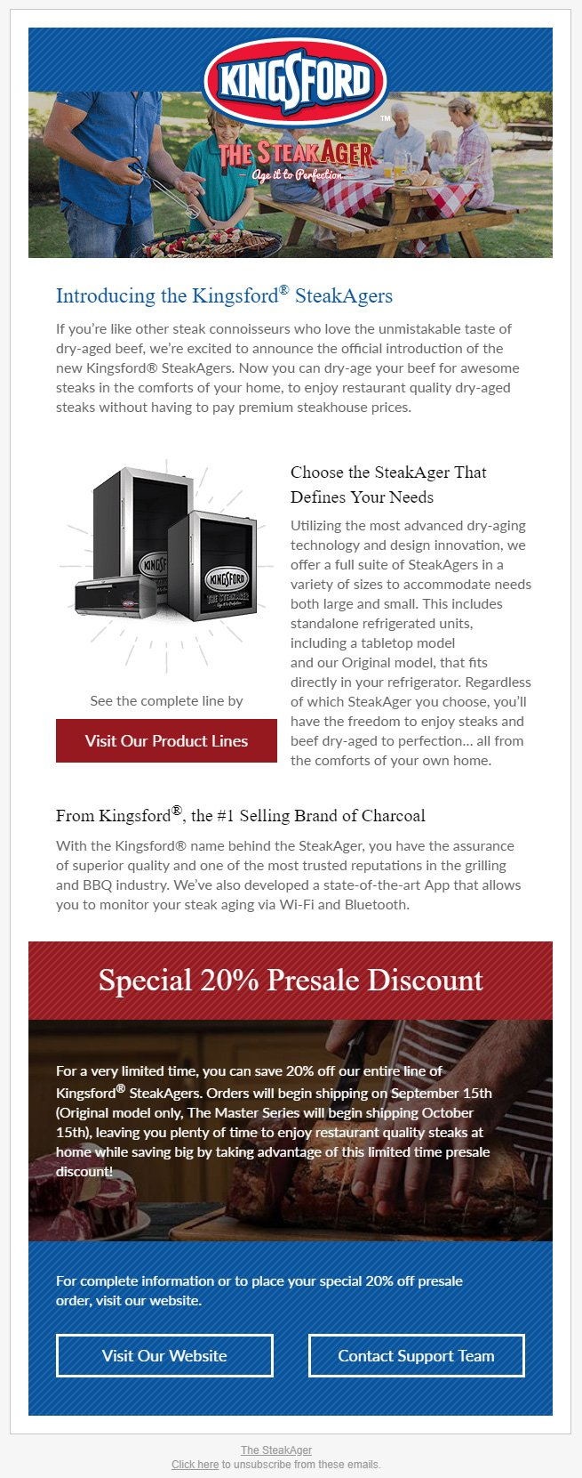 Example of an Email Template