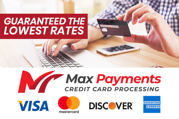 Guaranteed the lowest credit card processing rates