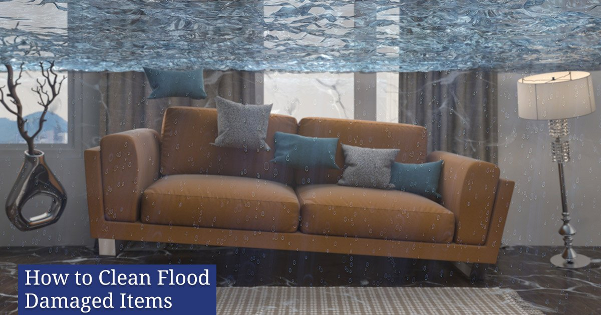 How to Clean Flood Damaged Items