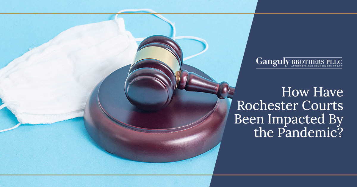 How Have Rochester Courts Been Impacted By the Pandemic?