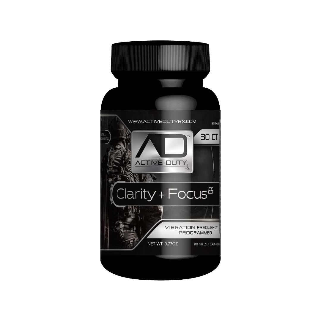 Active Duty RX™ Clarity & Focus ES Hemp Capsules, 30ct