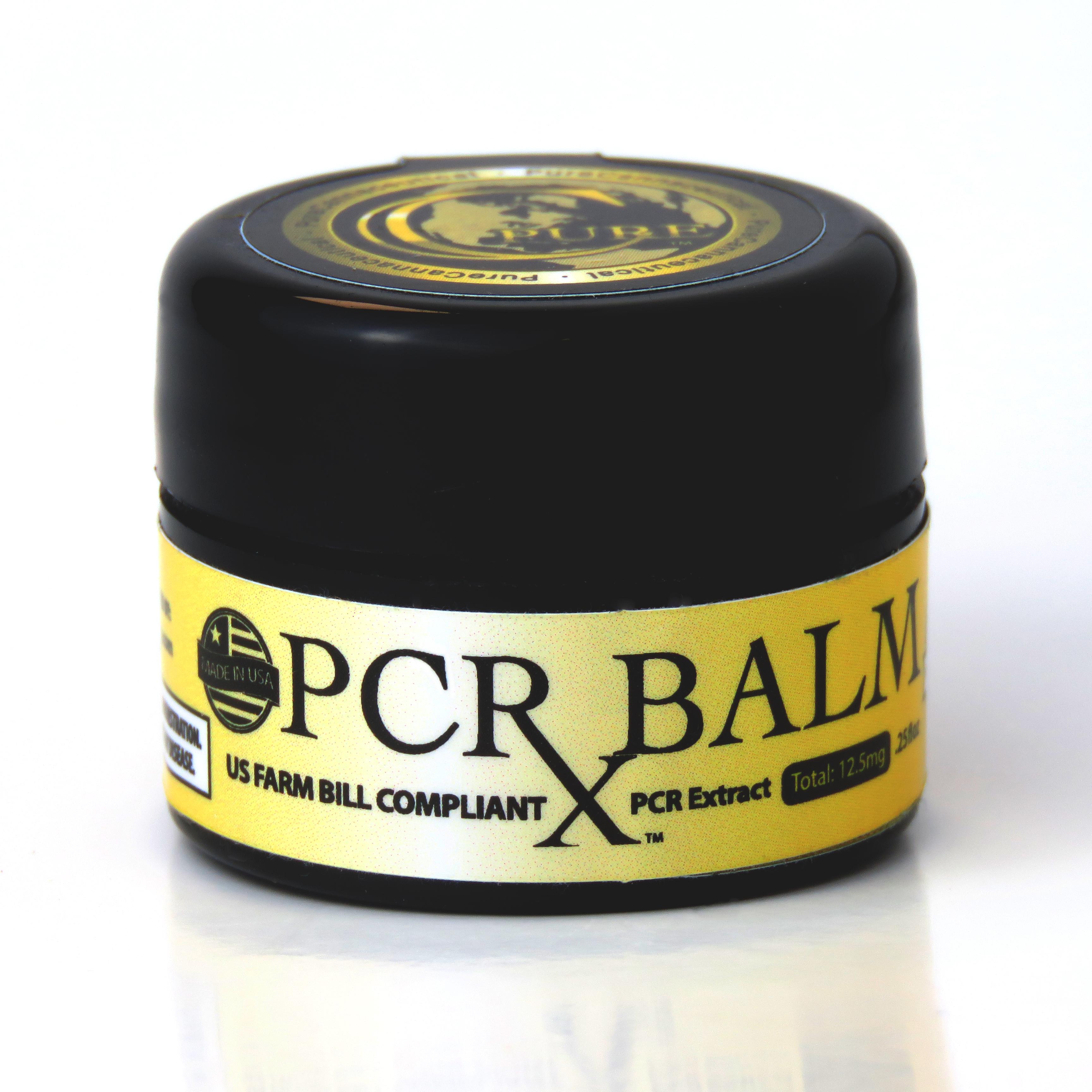 PCRX™ Hemp Balm 100mg, .25oz, Trial Size
